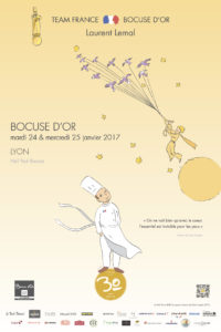 Couteaux Chroma Team France Bocuse d'or 2017