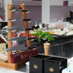 Couteaux japonais Takamura Bocuse d'or 2017