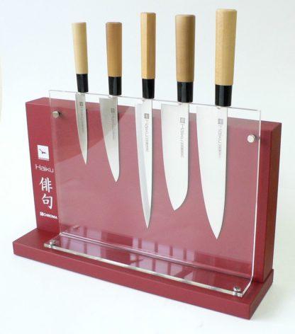 DISPH Bloc plexi Haiku pour 5 couteaux