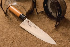 Couteau japonais CHROMA Haiku Damas