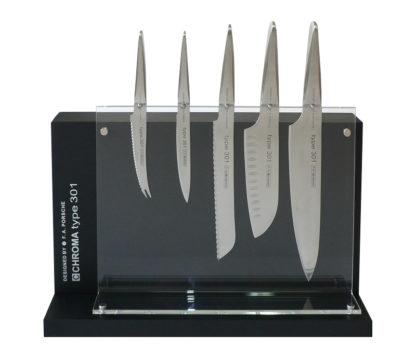 DISPP Bloc plexi pour couteau Type 301 Design by F.A. Porsche