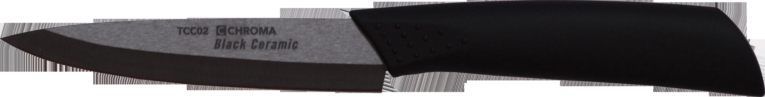 Couteau céramique noire office 12cm