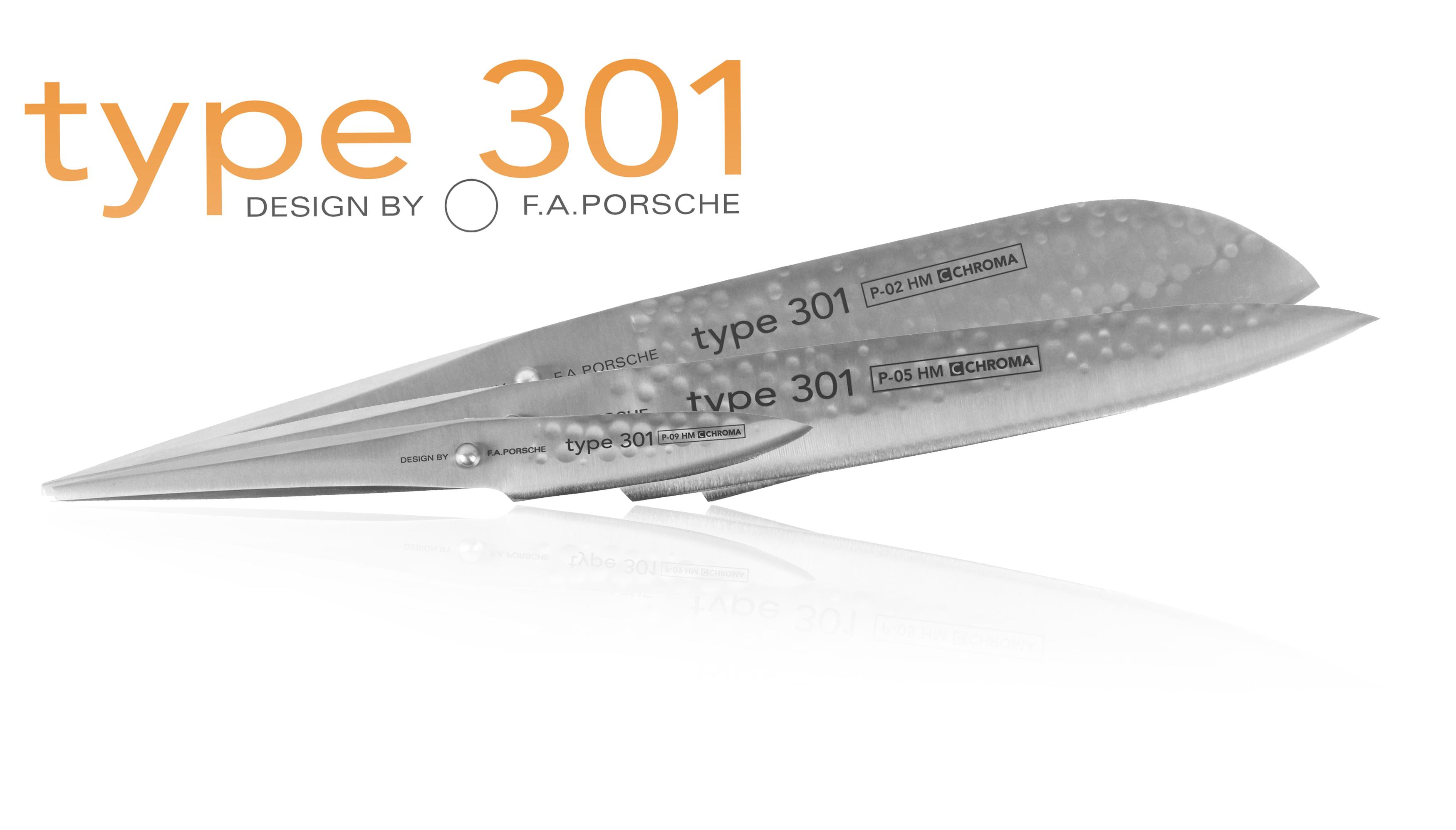 Coffret 3 couteaux p529hm