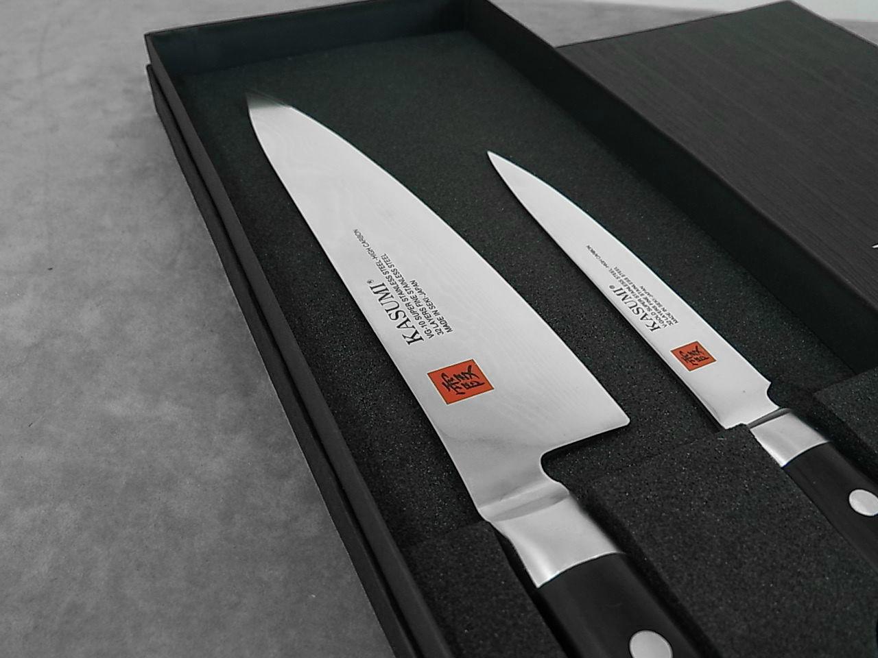 Coffret de deux couteaux de cuisine Kasumi standard 88020-12