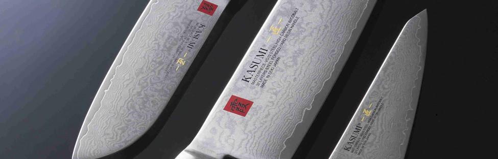 Kasumi Masterpiece couteau damas japonais