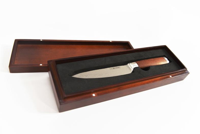 Coffret bois couteau Dorimu