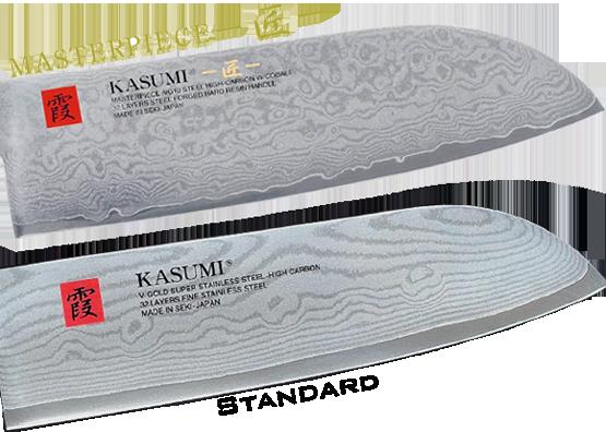 Différences entre Kasumi Masterpiece et damas standards