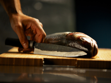 Couteau japonais Chroma Haiku Kurouchi