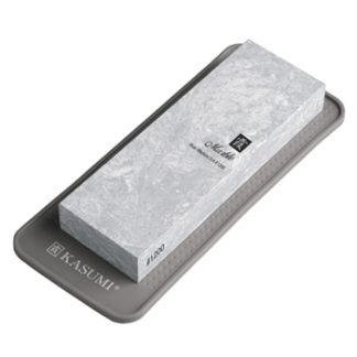 Kasumi pierre à aiguiser marbrée grise grain 1200