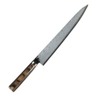 Couteau damas TAKAMURA éminceur 24 cm TM13