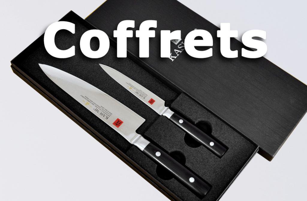 Catégorie Coffret couteaux