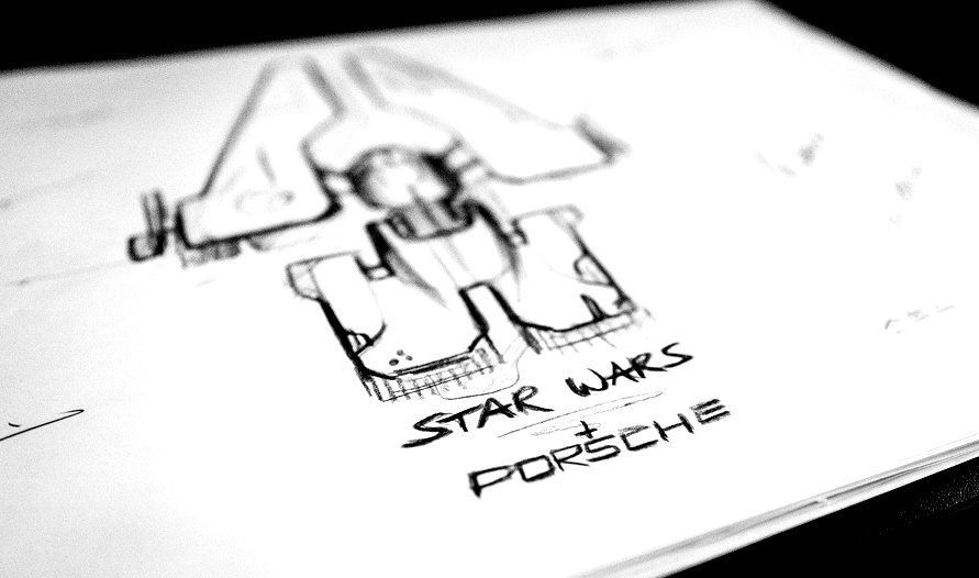 Le design Porsche. The Rise of Skywalker.