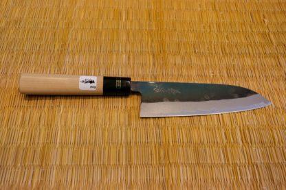 Fujiwara Black Forged Santoku